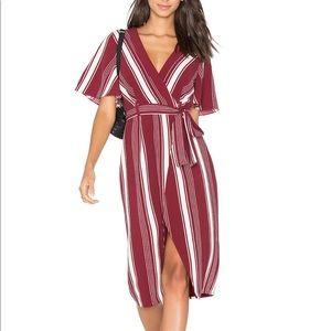 Lovers + Friends Fremont Wrap Dress